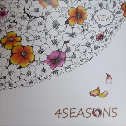 4Seasons (4 évszak, felnőtt kifestő füzet, nagy)