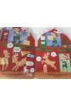 A télapó rénszarvasai (Karácsonyi lapozó)
