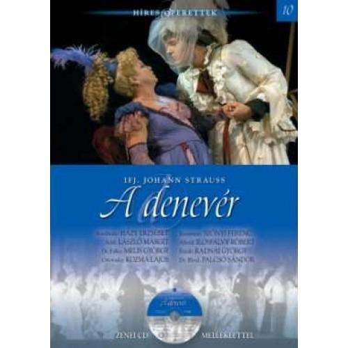 A denevér (Híres operettek 10.) - zenei CD melléklettel