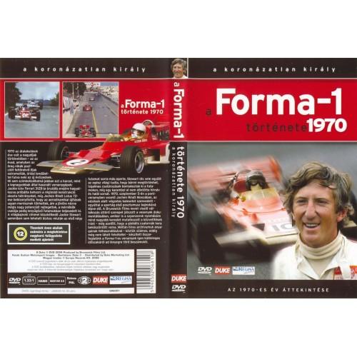 A Forma-1 története 1970 (DVD)