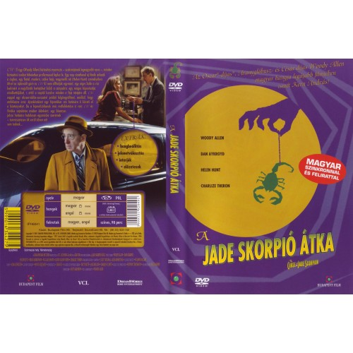 A jade skorpió átka (DVD)