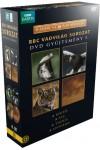 Vadvilág 1. 4 DVD-s díszdoboz - A kígyó / A sas / A tigris / A leopárd (DVD)
