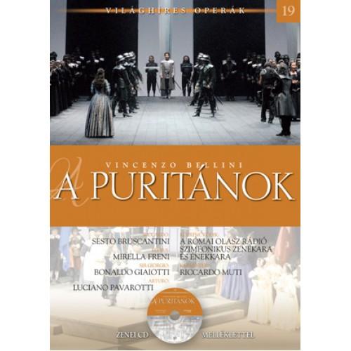 A puritánok (Világhíres operák 19.) - zenei CD melléklettel