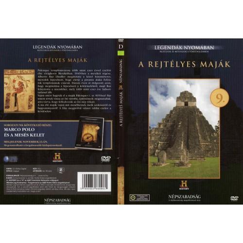 A rejtélyes maják - Legendák nyomában 9. (DVD) *