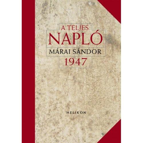 A teljes napló 1947