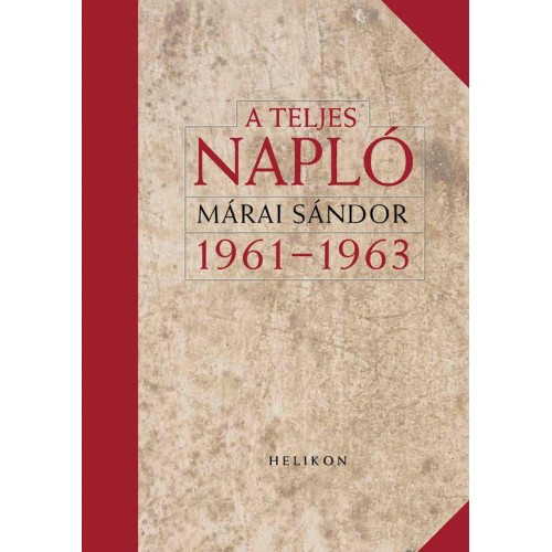 A teljes napló 1961-1963