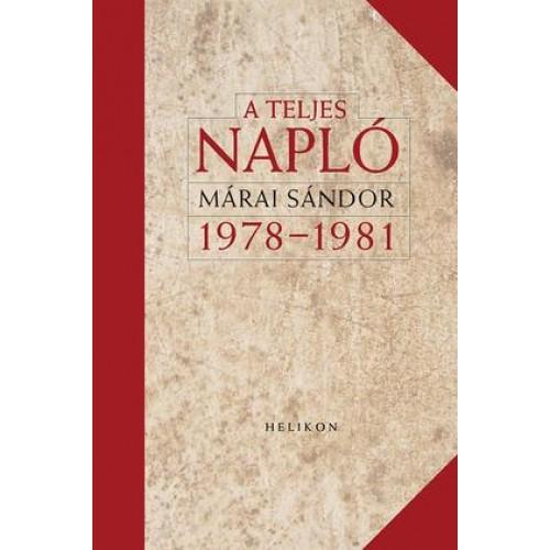 A teljes napló 1978-1981 (díszkiadás)