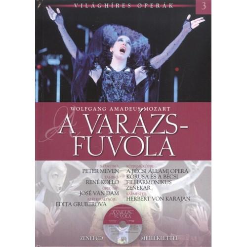 A varázsfuvola (Világhíres operák 3.) - zenei CD melléklettel