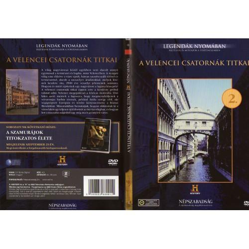 A velencei csatornák titkai - Legendák nyomában 2. (DVD) *