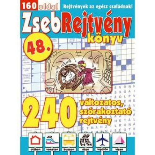 ZsebRejtvény Könyv 48., CsoSch Bt. kiadó, Folyóiratok