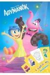 Agymanók - Színezőkönyv matricákkal - Disney, Pixar, Kolibri kiadó, Gyermek- és ifjúsági könyvek