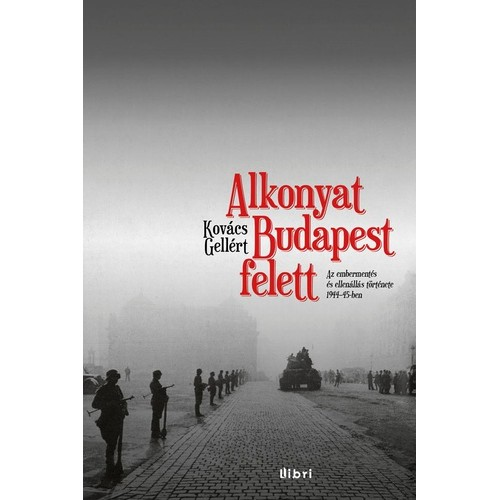 Alkonyat Budapest felett