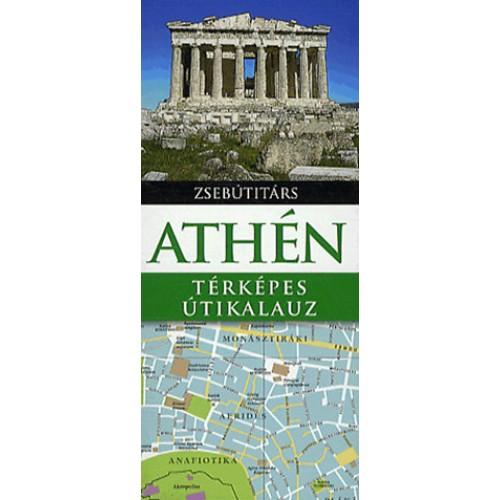 Athén - Térképes útikalauz (Zsebútitárs)