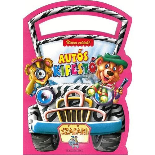 Autós kifestő - Szafari