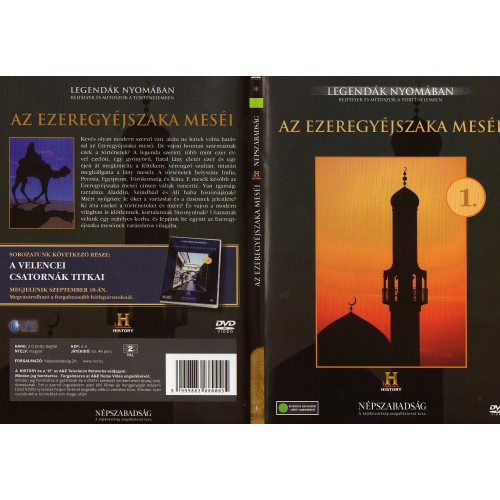 Az ezeregyéjszaka meséi - Legendák nyomában 1. (DVD)