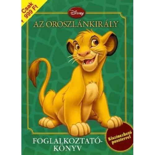 Az Oroszlánkirály - Foglalkoztatókönyv kiszínezhető poszterrel - Disney