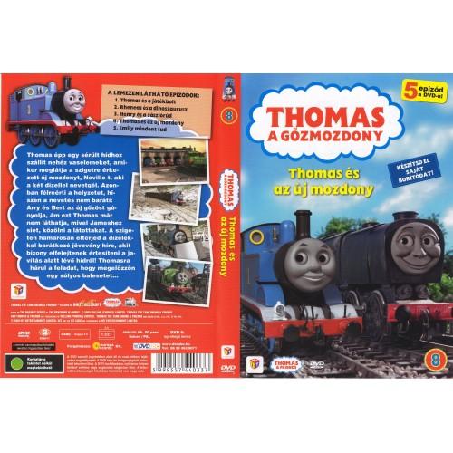 Thomas, a gőzmozdony - Thomas és az új mozdony (DVD)