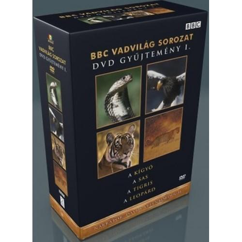 BBC - Vadvilág sorozat I. díszdoboz (4 DVD)