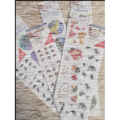 Zsákbamacska matrica csomag (7 csomag vegyesen) *