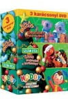 3 Karácsonyi DVD - Karácsonyi mesefilm DVD-k díszdobozban