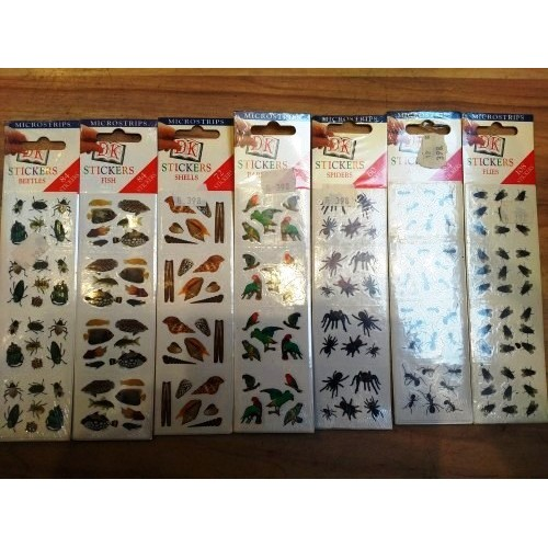 Állatos matricák (7 csomag vegyesen)*