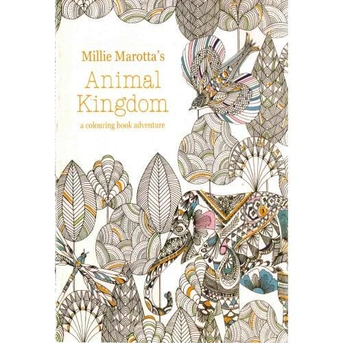 Animal Kingdom (Állatvilág felnőtt színező füzet, kicsi)