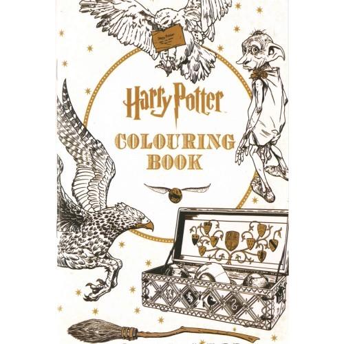 Harry Potter Colouring Book (felnőtt és gyermek színező füzet, kicsi)