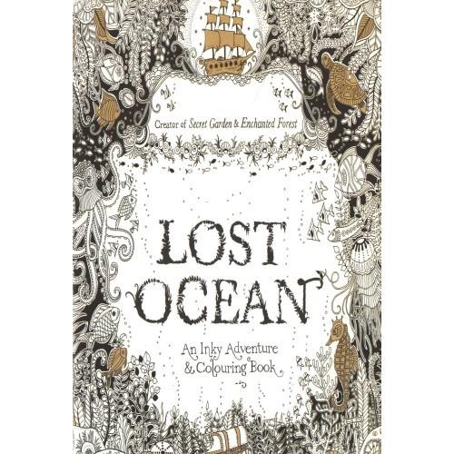Lost Ocean (Elveszett óceán felnőtt színező füzet, kicsi)