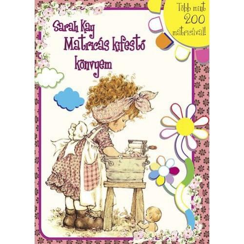 Sarah Kay - Matricás kifestő könyvem