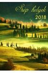 Szép helyek - Spirálos naptár 2018