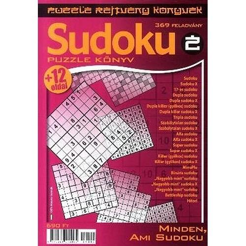 Sudoku 2. - Puzzle rejtvény könyvek - Minden, ami Sudoku