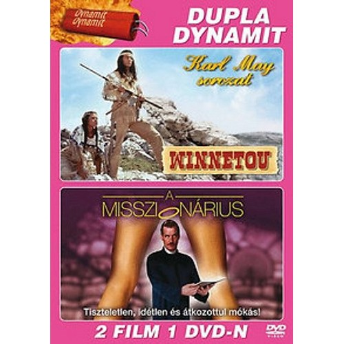 Karl May sorozat 1 - Winnetou 1. + Misszionárius (DVD)