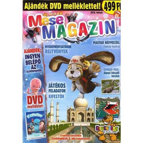 Új Mirax Mese Magazin 2010 február (DVD nélkül)