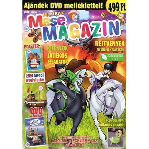 Új Mirax Mese Magazin 2010 július (DVD-vel)