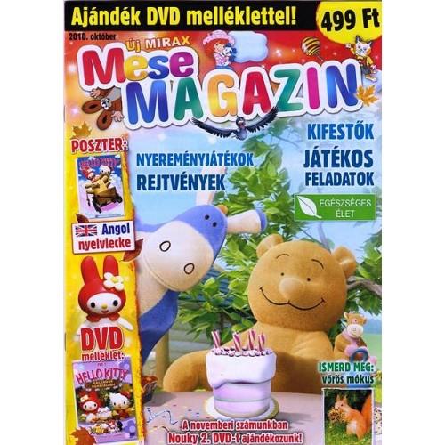 Új Mirax Mese Magazin 2010 október (DVD-vel)