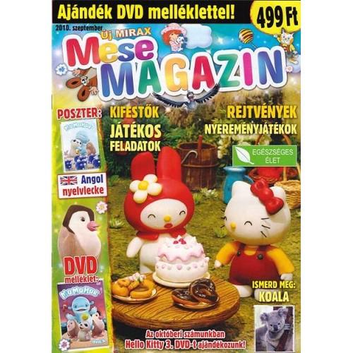 Új Mirax Mese Magazin 2010 szeptember (DVD-vel)