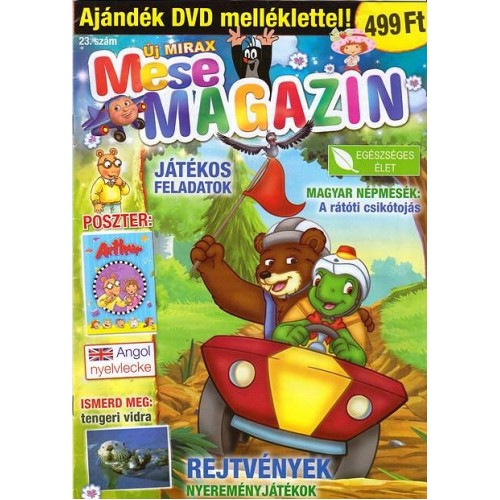 Új Mirax Mese Magazin 2011/23 (DVD-vel)