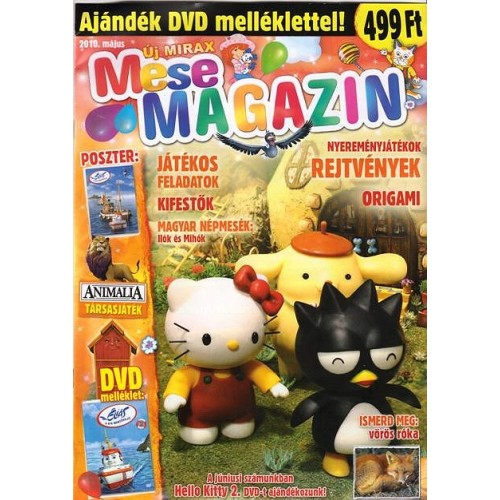 Új Mirax Mese Magazin 2010 május (DVD-vel)