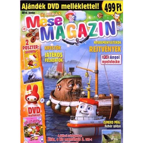Új Mirax Mese Magazin 2010 június (DVD-vel)