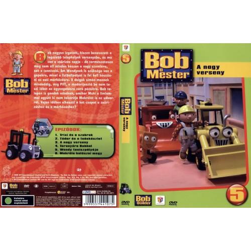 Bob a mester 5. - A nagy verseny (DVD)