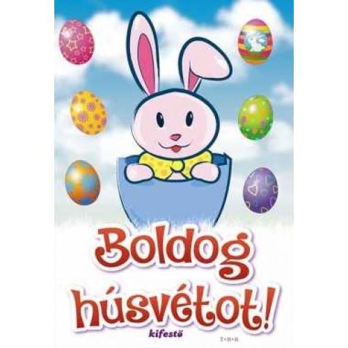 Boldog húsvétot! (kifestő)