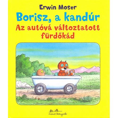 Borisz, a kandúr - Az autóvá változtatott fürdőkád