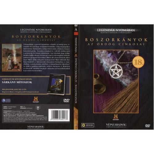 Boszorkányok (Az ördög cinkosai) - Legendák nyomában 18. (DVD) *