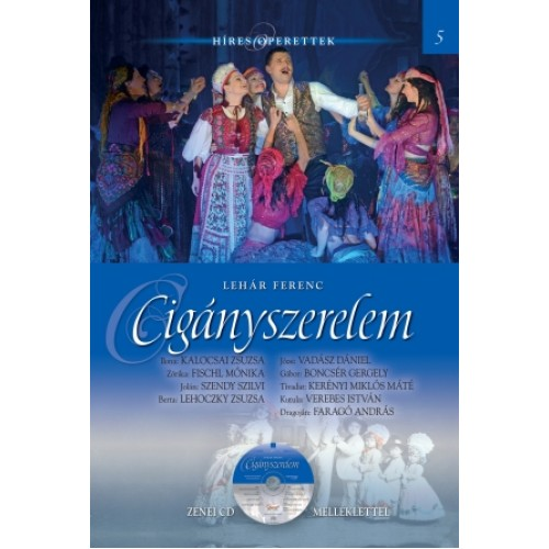 Cigányszerelem (Híres operettek 5.) - zenei CD melléklettel