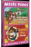 Csacska macska és tarka boci / Paddington Maci  (Mesés páros) (DVD)