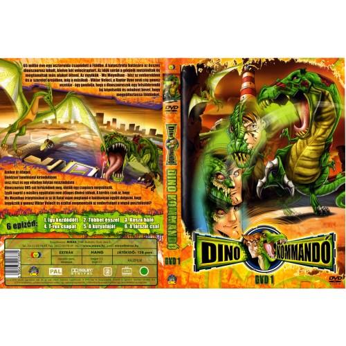 Dino-kommandó 1. (DVD)