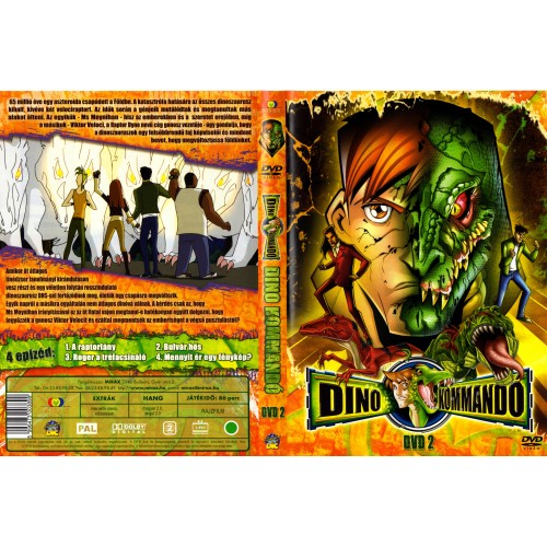 Dino-kommandó 2. (DVD)