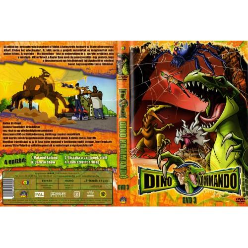 Dino-kommandó 3. (DVD)