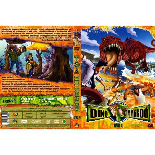 Dino-kommandó 4. (DVD)