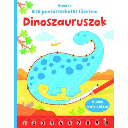 Dinoszauruszok - Első pontösszekötős füzetem (Usborne)